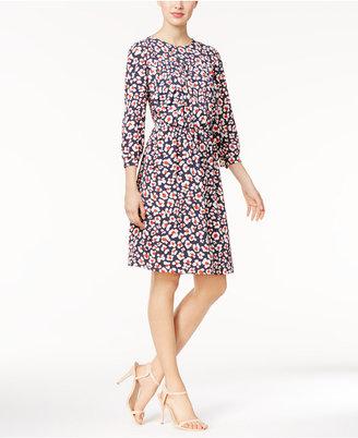 Nine West Floral-Print Blouson Dress $79 thestylecure.com