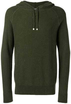 Ron Dorff zipped hooded sweater