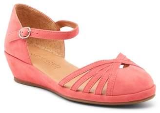 Gentle Souls Naira Ankle Strap Wedge Sandal