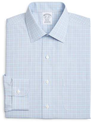 Brooks Brothers Overcheck Classic Fit Dress Shirt