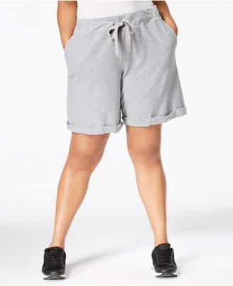 Calvin Klein Plus Size Cuffed Shorts