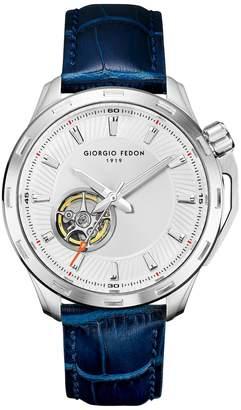 Giorgio Fedon Men's Timeless VII Italian Leather Watch, 42mm