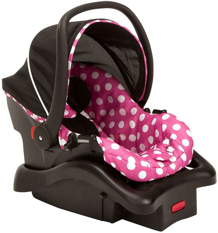 Disney Disney's Minnie Mouse Light 'N Comfy Luxe Infant Car Seat