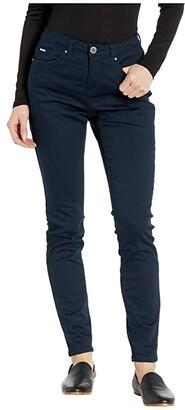 FDJ French Dressing Jeans Soft Hues Denim Olivia Slim Leg in Navy