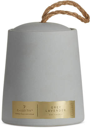 Illume Grey Lavender Oliver Ceramic Candle