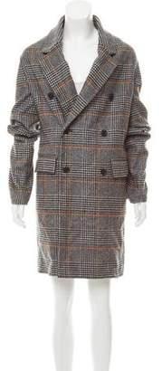 Perry Ellis Wool Houndstooth Coat w/ Tags