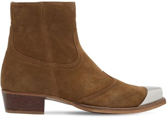 Represent WESTERN LEATHER BOOTS
