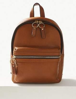 Marks and Spencer Leather Backpack Bag