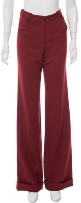 Hellessy Mid-Rise Wide-Leg Pants