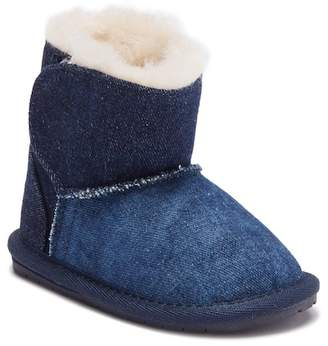 Emu Denim Wool Lined Boot (Baby)