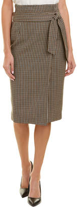 Escada Wool Pencil Skirt