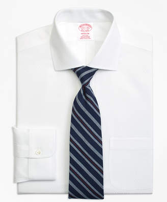 Brooks Brothers Madison Classic-Fit Dress Shirt, Non-Iron Dobby Diamond
