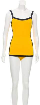 Michael Kors Sleeveless One-Piece Swimsuit w/ Tags