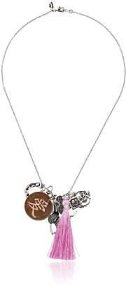 "Alisa Michelle Fortune Formula"" Love Charm Chain Necklace"