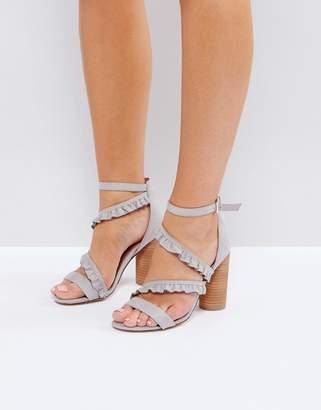 Call it SPRING Quarata Ruffle Heeled Sandals