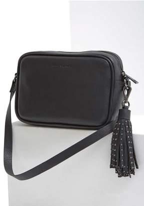 Mint Velvet Esme Black Tassel Camera Bag