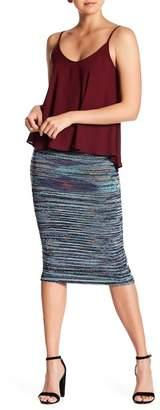 Vertigo Space Dye Tube Dress