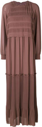 Steffen Schraut maxi peasant dress