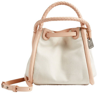 Skagen Mini Kolding Canvas Bucket Bag $215 thestylecure.com