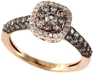 Effy Women's Espresso 14Kt. Yellow Gold and Brown Diamond Ring