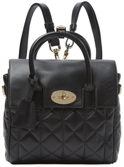 Mulberry x Cara Delevingne Medium Quilted Leather Three-In-One Bag $1,299 thestylecure.com