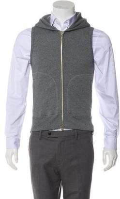 Todd Snyder Zip Hooded Vest