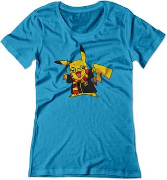 Pokemon BSW Women's Pikachu Potter Harry Potter Shirt SM