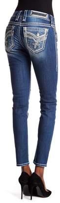 Rock Revival Fleur De Lis Skinny Jeans