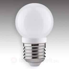 E27 4W 827 LED-Tropfenlampe opal