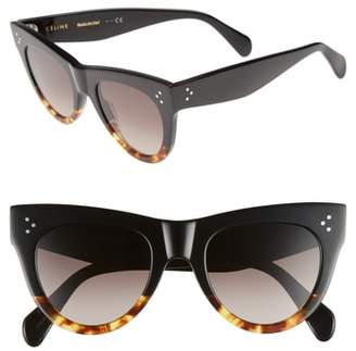 Celine 51mm Cat Eye Sunglasses