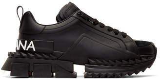 Dolce & Gabbana Black Super King Sneakers