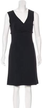 St. John Knit Knee-Length Dress