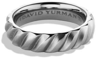 David Yurman Cable Band Ring in Titanium