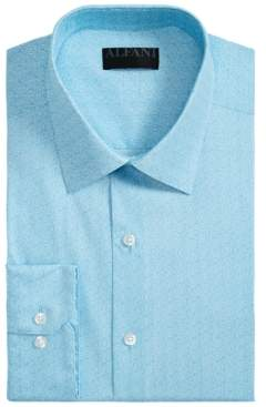 Alfani Men's Athletic-Fit AlfaTech Spiral Dot Shirt, Created for Macy's