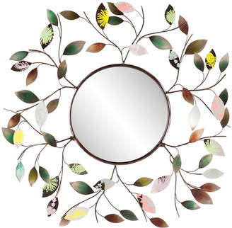 Asstd National Brand Briar Leaf Round Wall Mirror