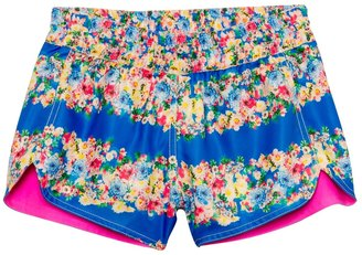 Seafolly Girls Abbey Road Reversible Boardie Short (614) - 8123441 $46.40 thestylecure.com