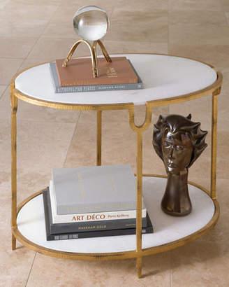 Global Views Olivia Side Table