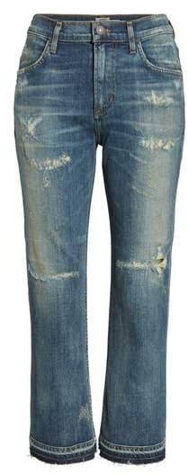 Drew Crop Flare Jeans