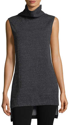 A.N.A Grey State Tunic Top