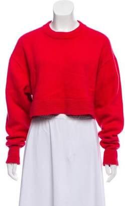 Tibi Cashmere Crop Top
