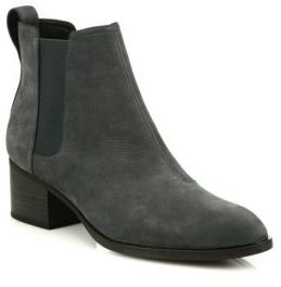 Rag & Bone Walker Nubuck Chelsea Booties $475 thestylecure.com