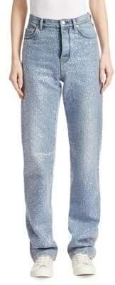 Acne Studios Tisi Denim Sequin Jeans