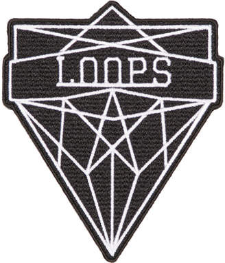 Junya Watanabe Black and White Loops Badge