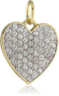 Juicy Couture Large Crystal Heart Charm