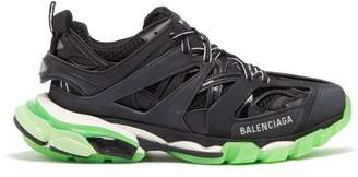 Balenciaga Track Low Top Trainers - Womens - Black Multi