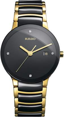 Rado Centrix Diamond Bracelet Watch, 38mm