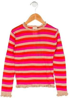 Ikks Girls' Stripe Top w/ Tags