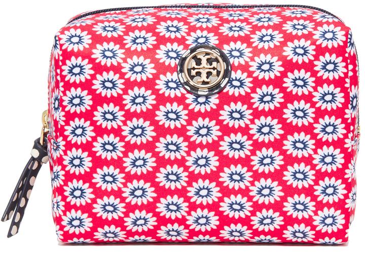 Tory BurchTory Burch Printed Nylon Brigitte Cosmetic Case