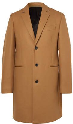Paul Smith Wool-blend Overcoat - Camel