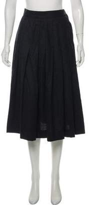 Christian Dior Wool Midi Skirt